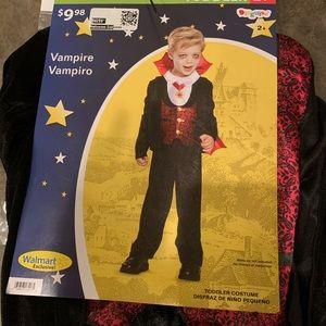 Kids Vampire Halloween Costume size 3T-4